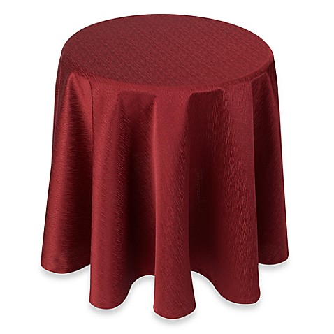 Buy Portman Wine 70 Inch Round Table Topper From Bed Bath