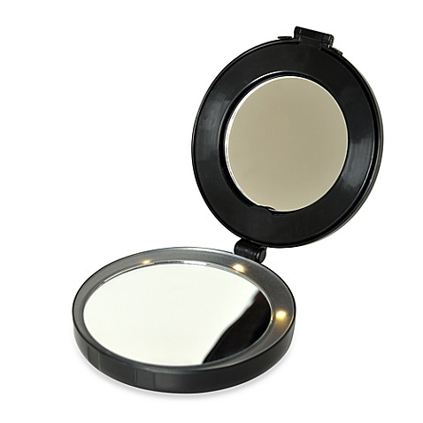 Buy 10x/1x Lighted Compact and Mini Vanity Mirror from Bed ...