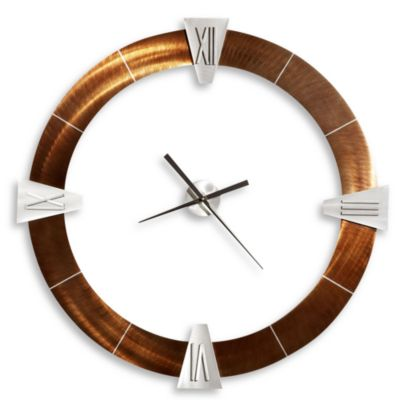 Deco Round Roman Wall Clock