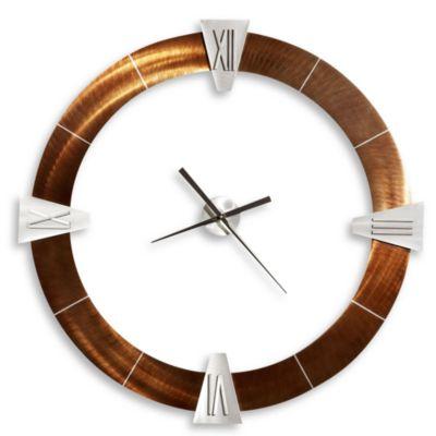 Deco Round Roman Wall Clock