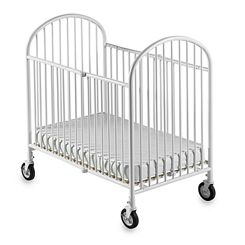 Foundations® Pinnacle™ Compact Steel Folding Crib