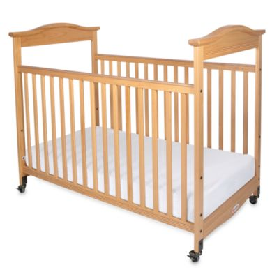 Foundations® Biltmore™ Full-Size Fixed-Side Clearview Crib in Natural