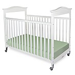 Foundations® Biltmore™ Fixed-Side Clearview Full-Size Crib in White