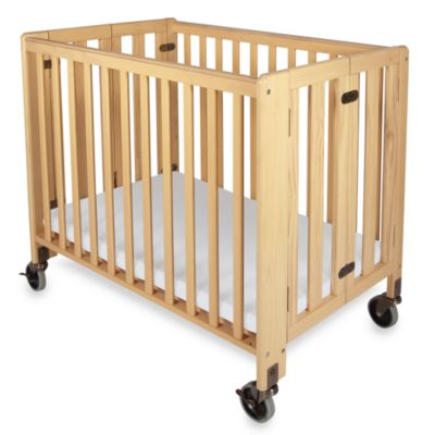 Foundations® HideAway™ Folding Compact Crib