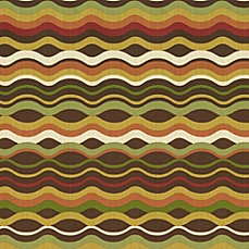 Variance Fabric by the Yard - Chocolate
