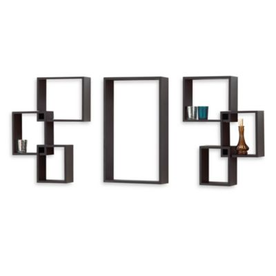 ABC's of Decor™ 7-Piece Interlocking Wall Cube Set