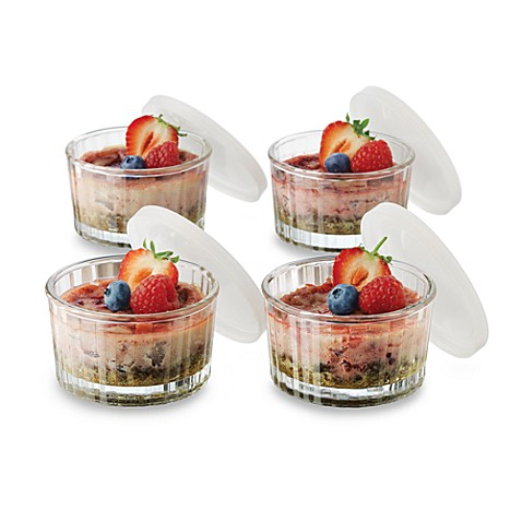 Libbey® Just Baking 20-Piece Glass Ramekin & Lid Set