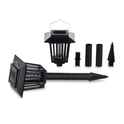 iConcepts 2-Pack Solar Lantern Bug Zapper