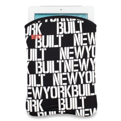 Built NY® Slim Neoprene Sleeve for iPad® and iPad® 2 in Black and White Dots