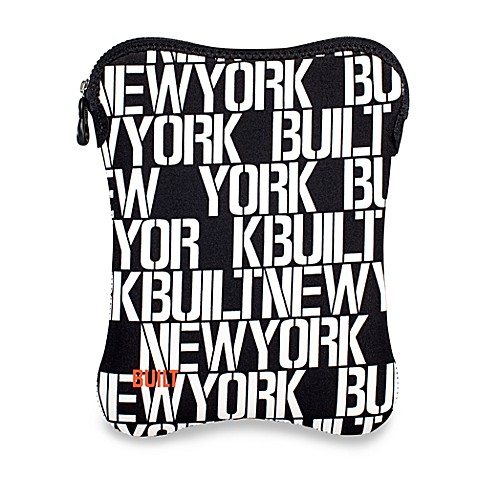 Built NY® Large Neoprene Sleeve for iPad® and iPad® 2 - Black and White
