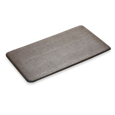 Imprint™ Cumulus9™ Croco Anti-Fatique Comfort Mat in Cream