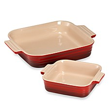 Le Creuset® 2-Piece Square Baking Dish Set