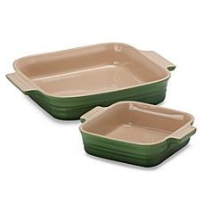 Le Creuset® 2-Piece Square Baking Dish Set - Fennel