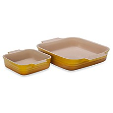 Le Creuset® 2-Piece Square Baking Dish Set - Dijon