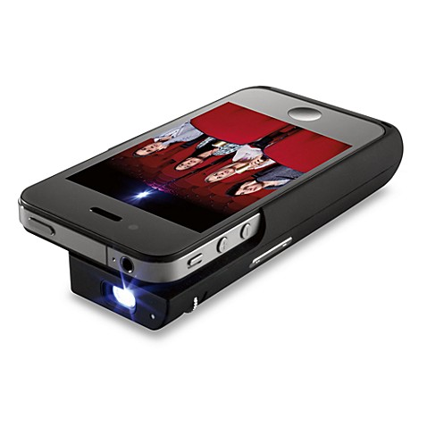Brookstone Pocket Projector for iPhone® 4 Devices