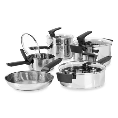 Philippe Richard® 10-Piece Stainless Steel Cookware Set by Tabletops Unlimited®