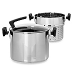 Philippe Richard® 3-Piece 8-Quart Stainless Steel Pasta Cooker