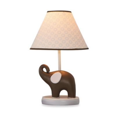 Carter's® Blue Elephant Lamp