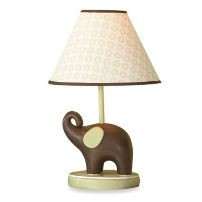 Carter's® Green Elephant Lamp