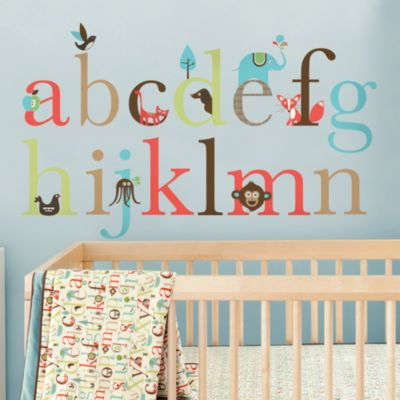 SKIP*HOP® Alphabet Zoo Wall Decals