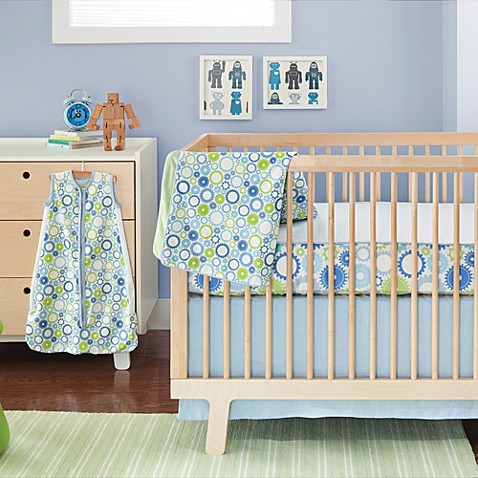 SKIP*HOP® Moving Gears Complete Sheet™ 4-Piece Crib Bedding Set