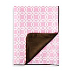 SKIP*HOP® Pink Lattice Nursery Blanket