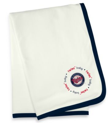 Minnesota Twins MLB® Baby Fanatic® Receiving Blanket