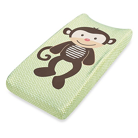 Summer Infant Plush Pals Changing Pad Cover in Monkey