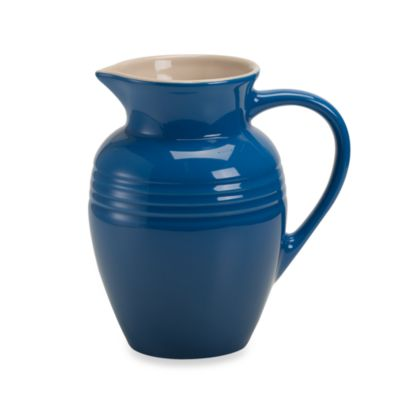 Le Creuset® 2 1/4-Quart Stoneware Pitcher in Marseilles