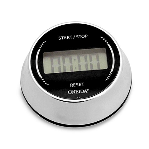 Oneida® Digital Twist & Set Timer