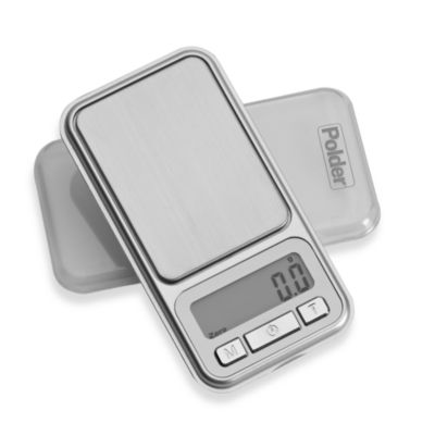 Polder® Digital Pocket Portion Food Scale