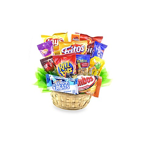 Sweets in Bloom® Snack Attack Gift Basket
