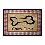 PB Paws Pet Collection Chow Time 19-Inch x 27-Inch Pet Mat in Multi