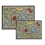 PB Paws Pet Collection Dog Show Pet Mats (Multi)