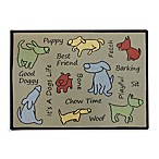 PB Paws Pet Collection Dog Show 13-Inch x 19-Inch Pet Mat in Multi