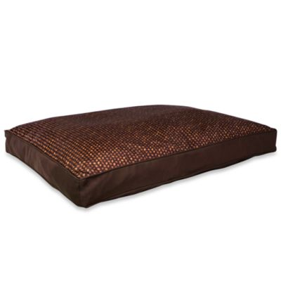 Park B. Smith® Watershed™ Bamboo Basket Dog Bed in Brown