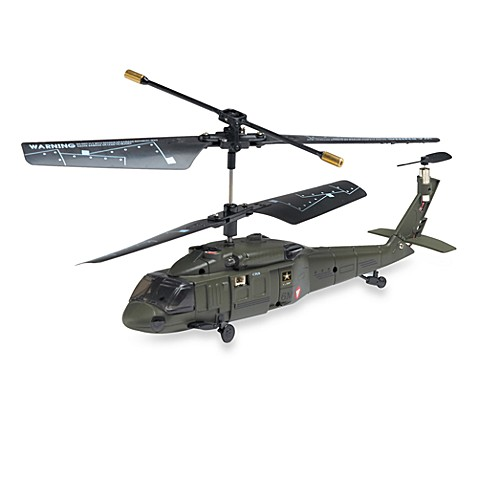 U.S. Army™ Combat Chopper 3-Channel Remote Control Helicopter