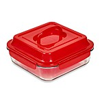 Denmark® 2-Piece Bake & Carry Square Baking Dish in Red