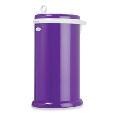 Ubbi® Diaper Pail in Purple