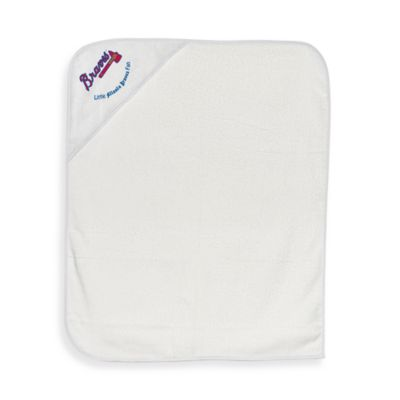 Atlanta Braves Baby Hooded Towel