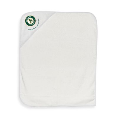 Baby Hooded Towel in Oakland Athletics