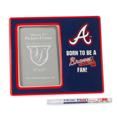 The Memory Company MLB® Youth Frame in Atlanta Braves