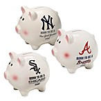 "The Memory Company MLB® Born To Be"" Piggy Bank"
