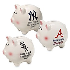 The Memory Company MLB Born To Be A Fan Piggy Bank