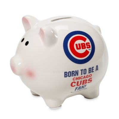 "The Memory Company Chicago Cubs MLB® Born To Be"" Piggy Bank"