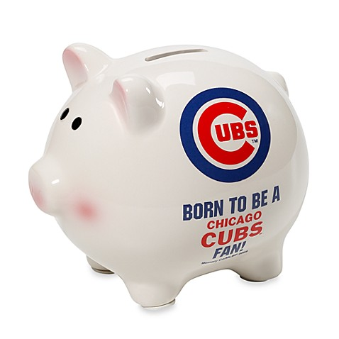 The Memory Company MLB Chicago Cubs Born To Be A Fan Piggy Bank