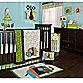 Zutano Elephants 4-Piece Crib Bedding Set