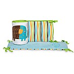 Zutano Elephants Crib Bumper