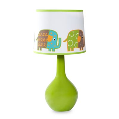 Zutano Elephants Lamp & Shade