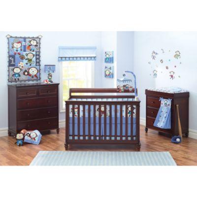 Summer Infant® Team Monkey Crib Bedding Collection > Summer Infant® Team Monkey 8-Piece Crib Bedding Set